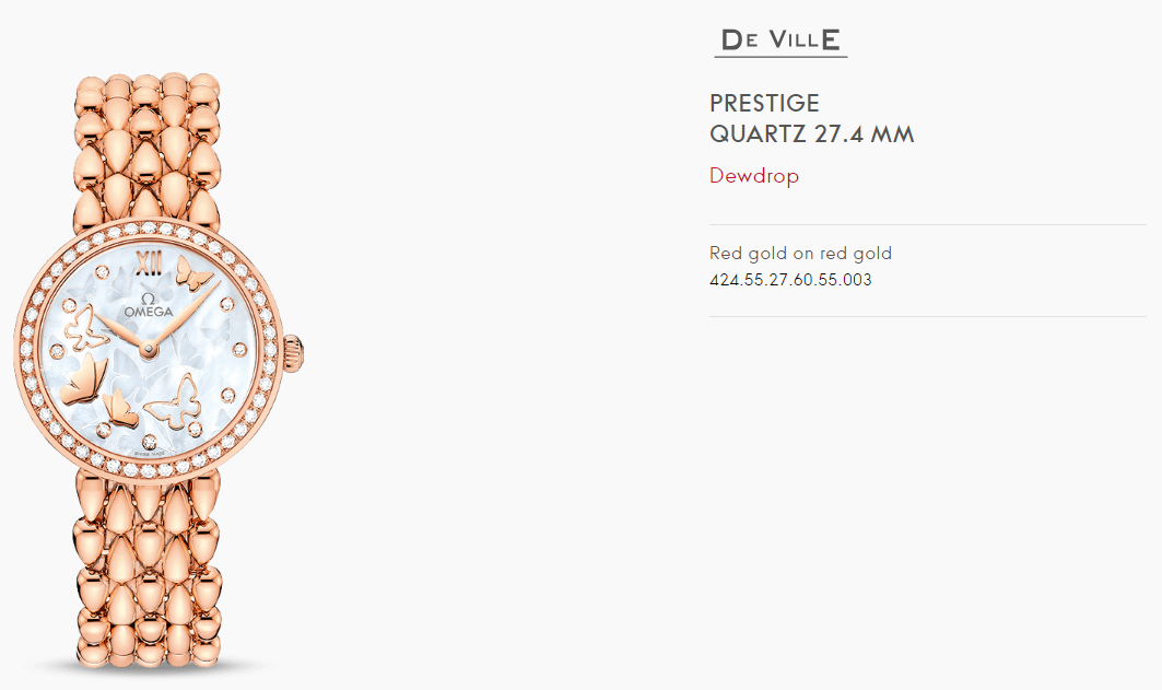 Đồng hồ Omega DE VILLE PRESTIGE QUARTZ 27.4 MM