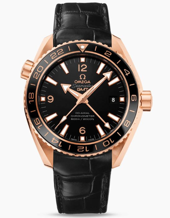 Đồng hồ Omega nam PLANET OCEAN 600M OMEGA CO-AXIAL GMT 232.63.44.22.01