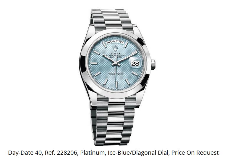 Giá đồng hồ Rolex thụy sĩ Day-Date 40, Ref. 228206