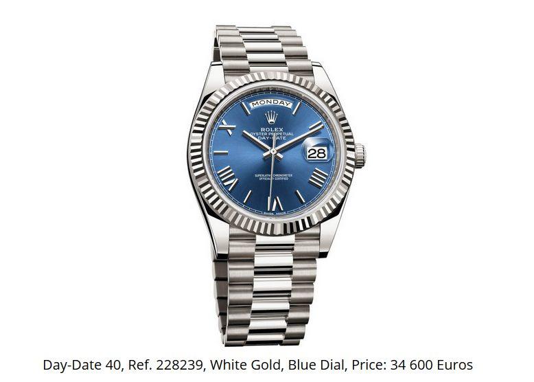 Giá đồng hồ Rolex thụy sĩ Day-Date 40 Ref. 228239
