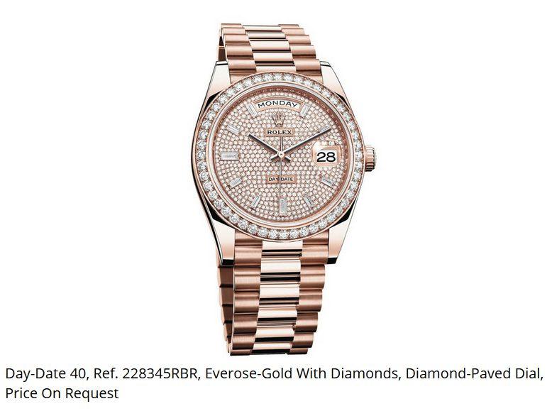 Giá đồng hồ Rolex thụy sĩ Day-Date 40, Ref. 228345RBR