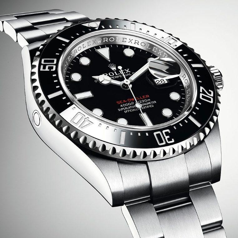 Tùy chọn đồng hồ Rolex Sea-Dweller
