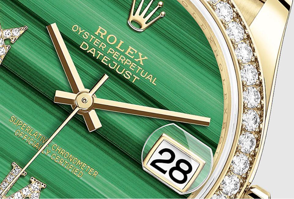 Thấu kính Đồng hồ Rolex Datejust 278288RBR