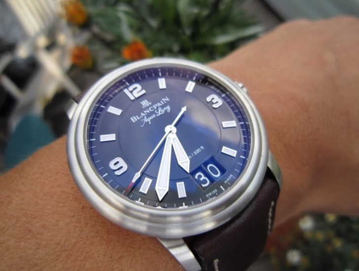 Đồng hồ Blanepain Grande Date Aqua Lung