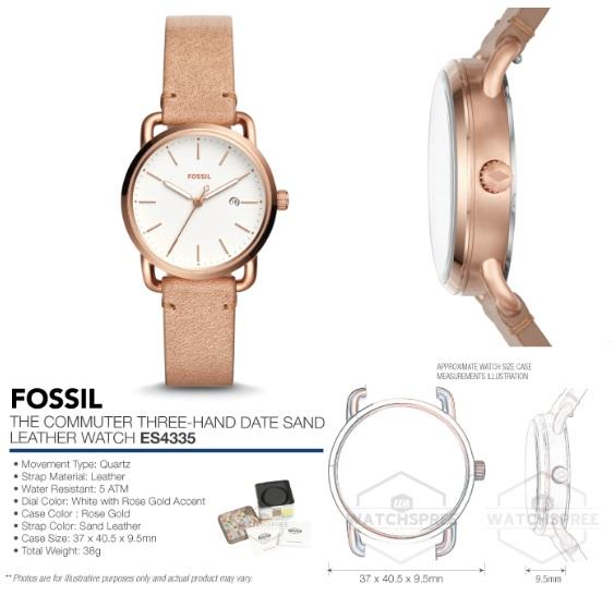 Kết quả hình ảnh cho ĐỒNG HỒ FOSSIL ES4335