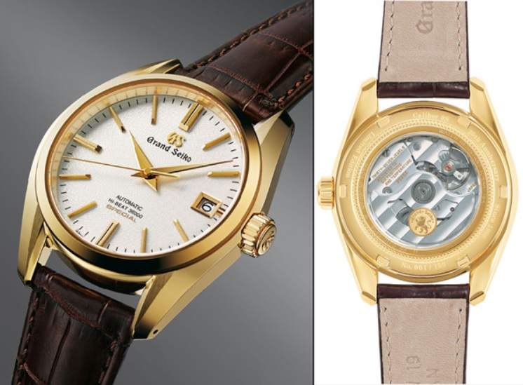 Đồng hồ Seiko Hi-Beat 36000 VFA Special in 18K Gold