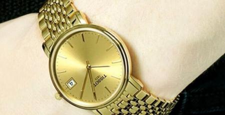 Đồng hồ màu vàng hợp với người mệnh kim