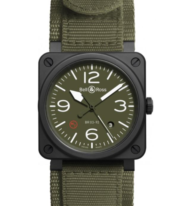 Đồng hồ quân đội Bell&Ross Aviation_BR0392 Mil CE