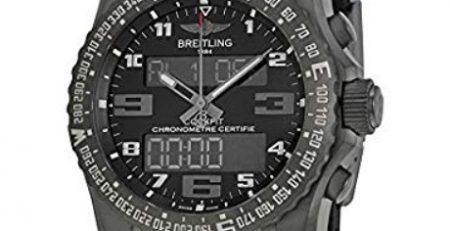 Đồng hồ quân đội Breitling Cockpit B50 Night Mission
