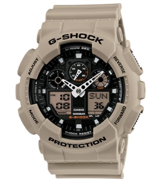 Đồng hồ quân đội Casio GA100SD8A G-Shock