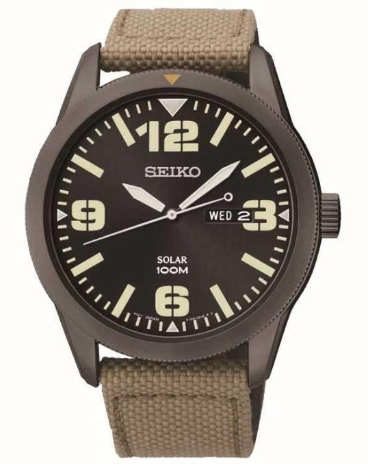 Đồng hồ quân đội Seiko SNE331P9