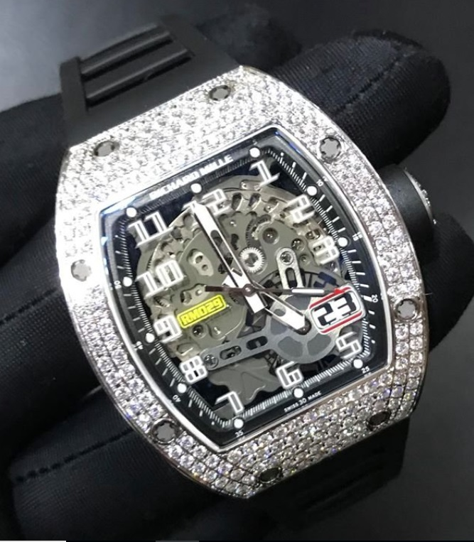 Đồng hồ Richard Mille RM 029 White Gold