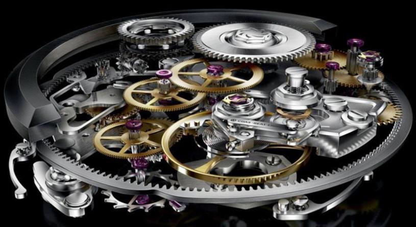 Cấu tạo bộ máy đồng hồ cơ lên dây cót