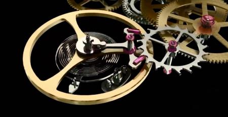 Chức năng Bánh xe cân bằng trong bộ máy đồng hồ