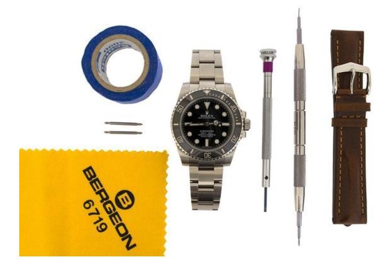 Hướng dẫn thay dây da cho đồng hồ kim loại_2