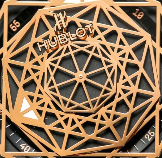 Đồng hồ Hublot Big Bang One Click Sang Blue King Gold Pave