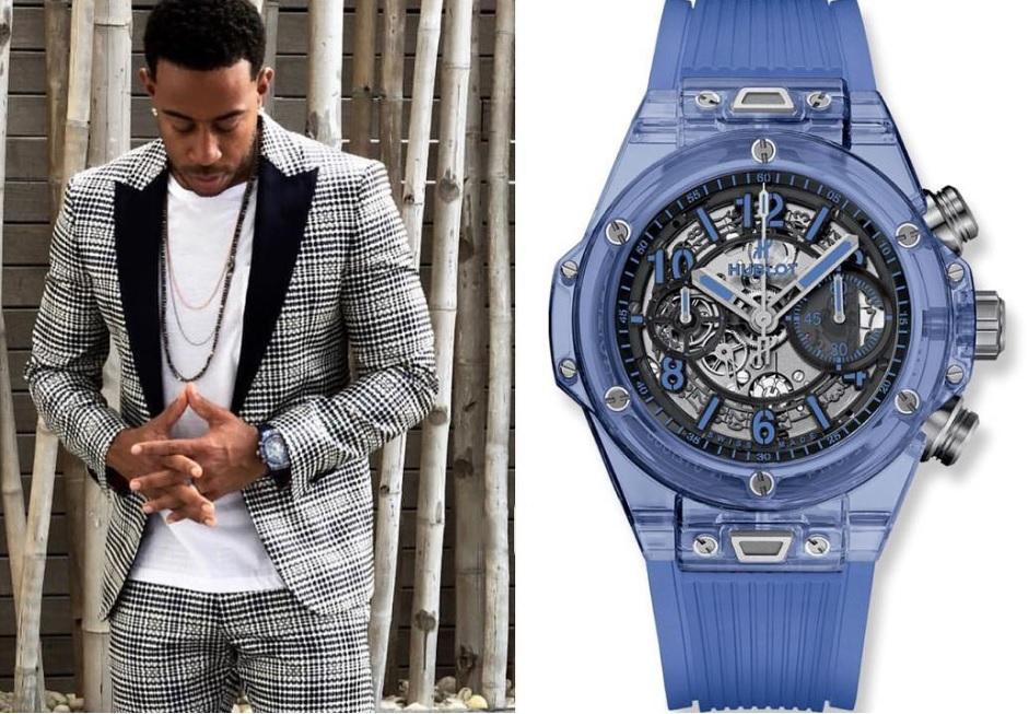 Ludacris_sở_hữu_đồng_hồ_Big_Bang_Unico_Blue_Sapphire