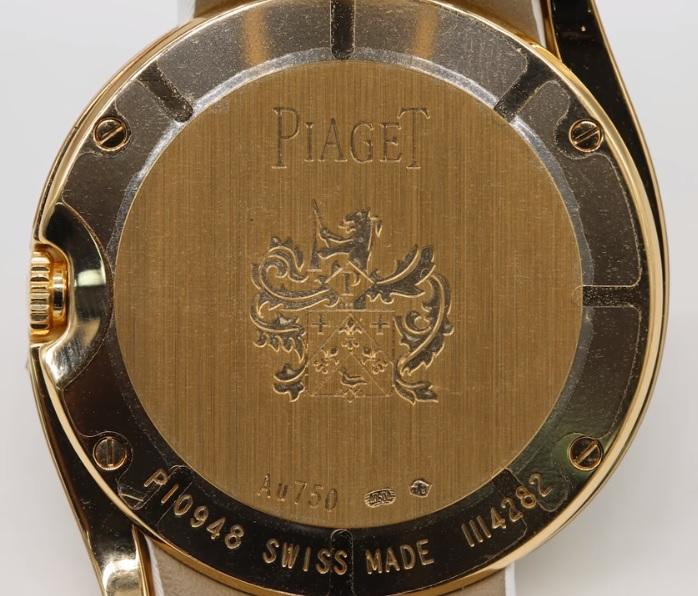 Case back Đồng hồ Piaget Limelight Gala Watch Satin G0A38167