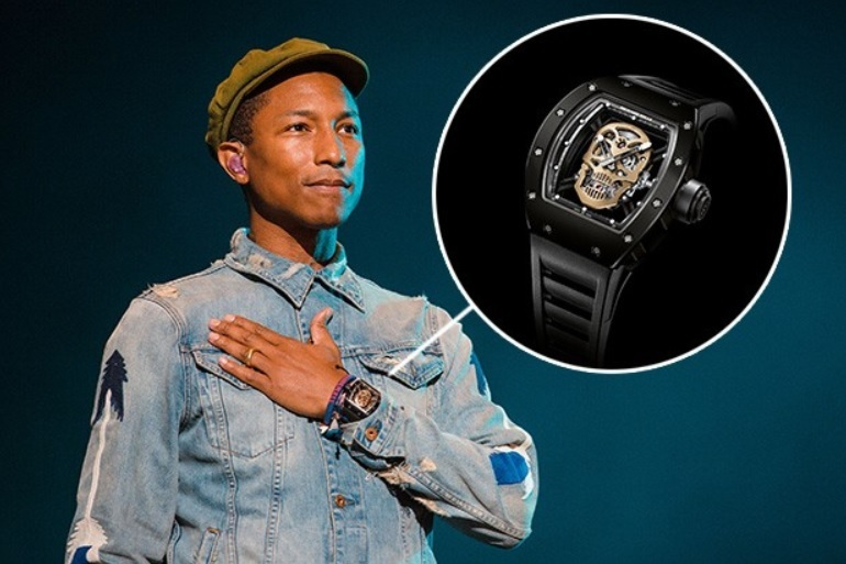 Pharrell_Williamss_Richard_Mille_RM_52-01_Tourbillon_Skull
