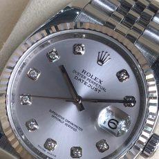 Rolex 116234 mặt trắng tia