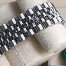 Rolex116234 mặt khảm ngọc trai màu trắng