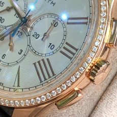 Zenith Elite Captain Moonphase Diamond Rose Gold