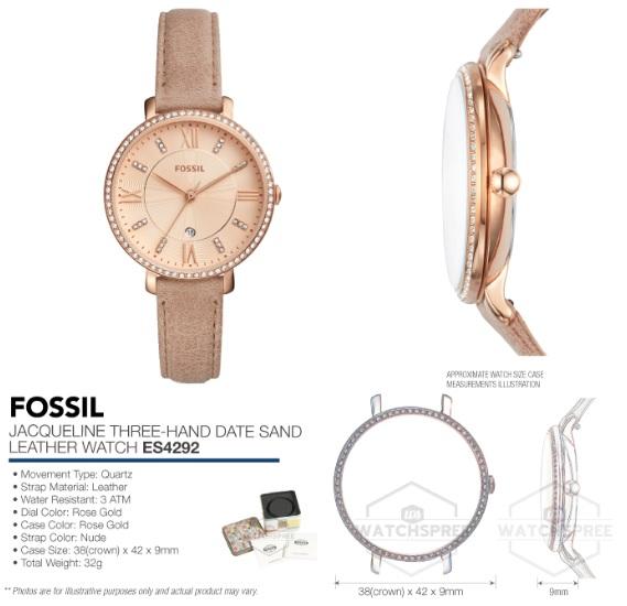 Đồng hồ Fossil ES4292