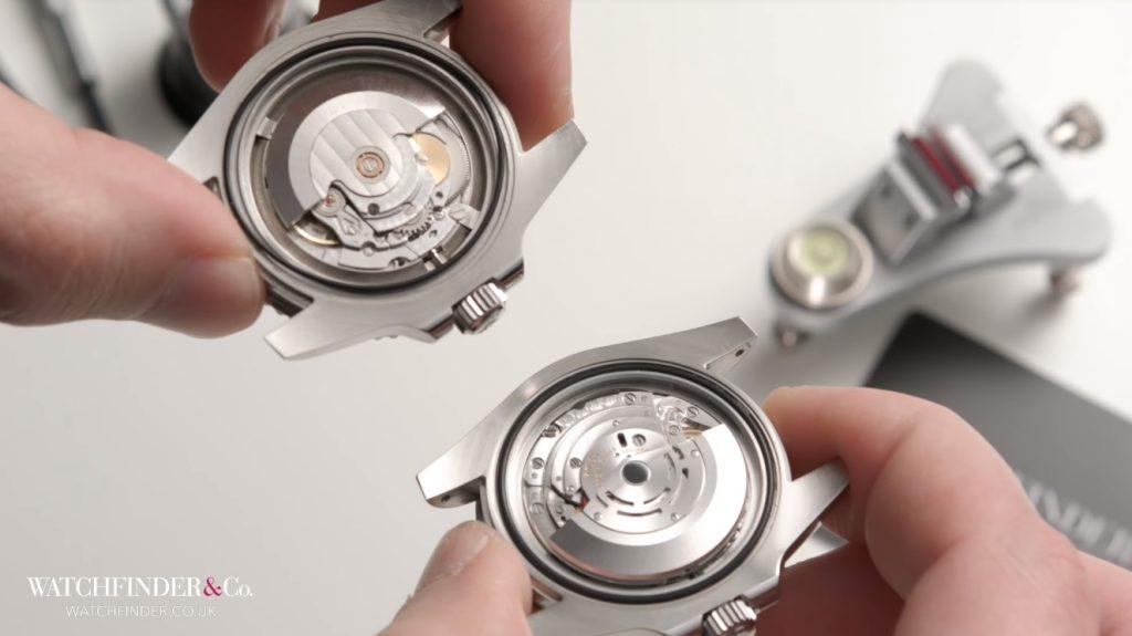 Bộ máy trên đồng hồ Rolex Submariner 116610LN