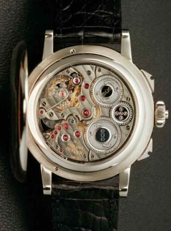 Grande Sonnerie đầu tiên của Philippe Dufour có cơ chế đếm giờ và chuông