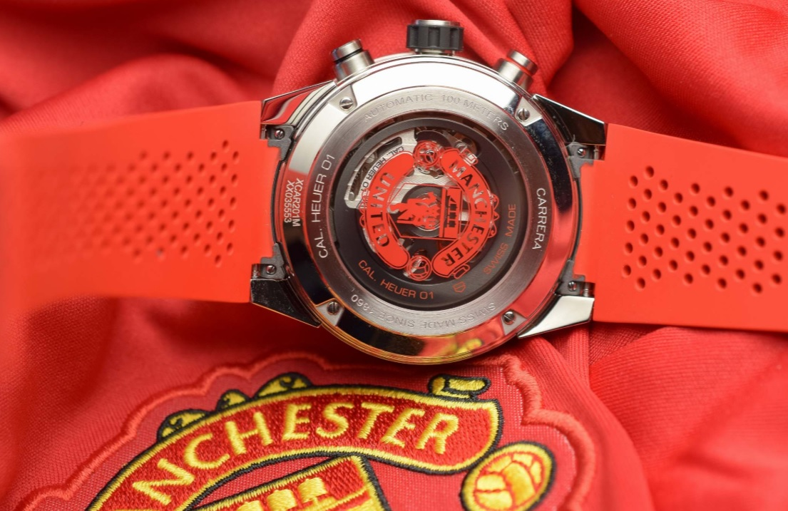 Đồng hồ TAG Heuer Carrera Heuer 01 Manchester United