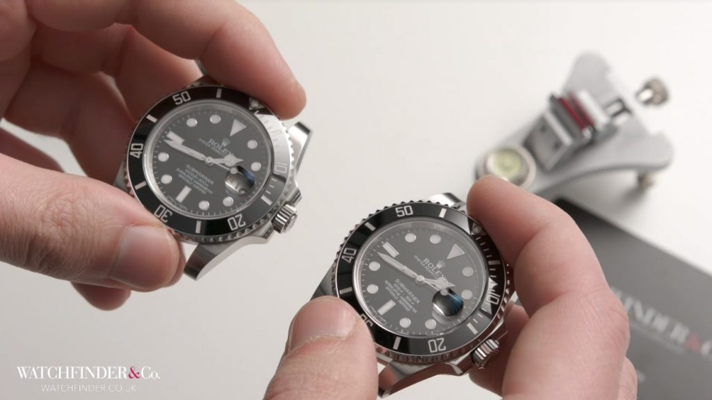 Phân biệt Rolex Submariner 116610LN thật giả