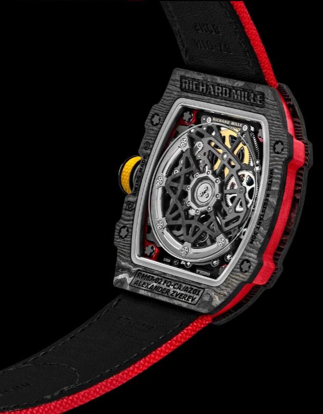 Đồng hồ Richard Mille RM 67-02 Alexander Zverev