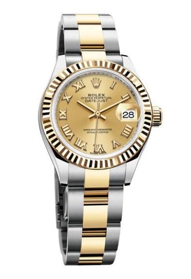 Rolex Lady Datejust 28 đồng hồ hiệu cho Quý cô sành điệu