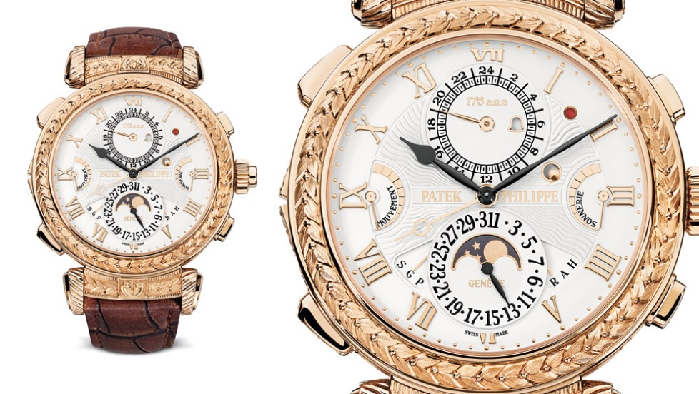 Siêu phẩm đồng hồ điểm chuông Grandmaster Chime của Patek Philippe