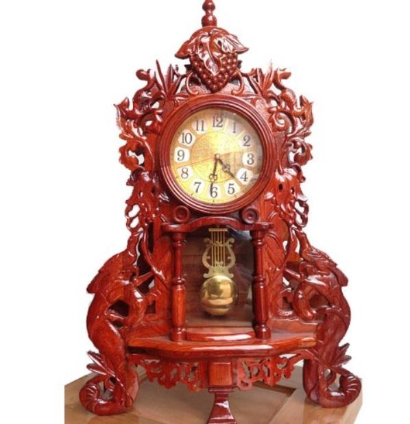 Đồng hồ cây để bàn giả cổ điển