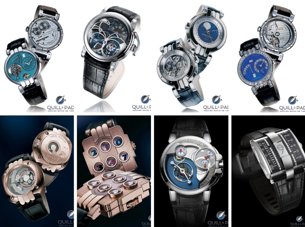 Bộ sưu tập đồng hồ OPUS Series của thương hiệu Harry Winston