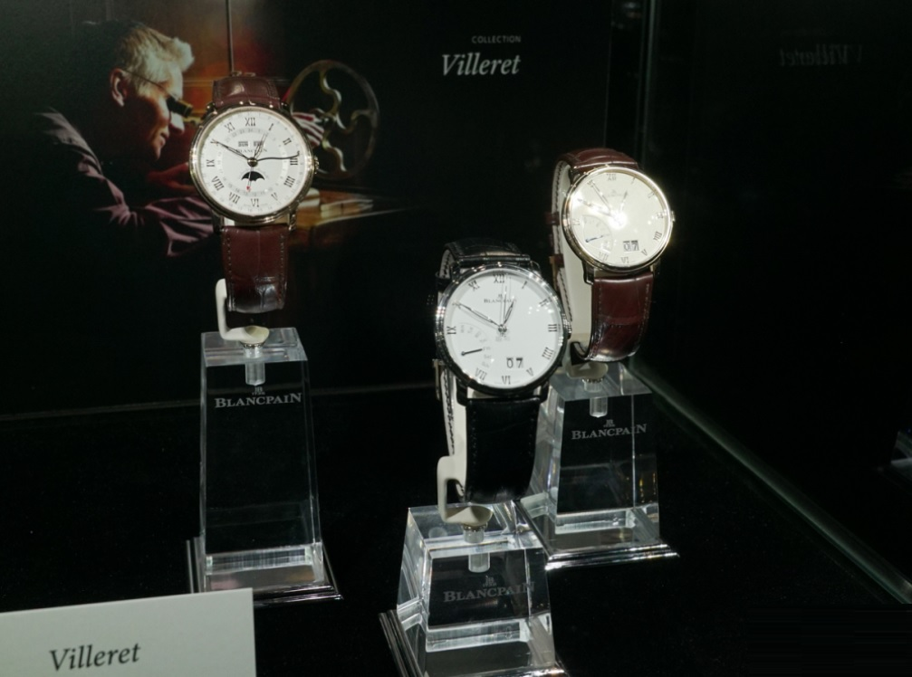 Blancpain cũng có dòng Dress Watch mang tên Villeret