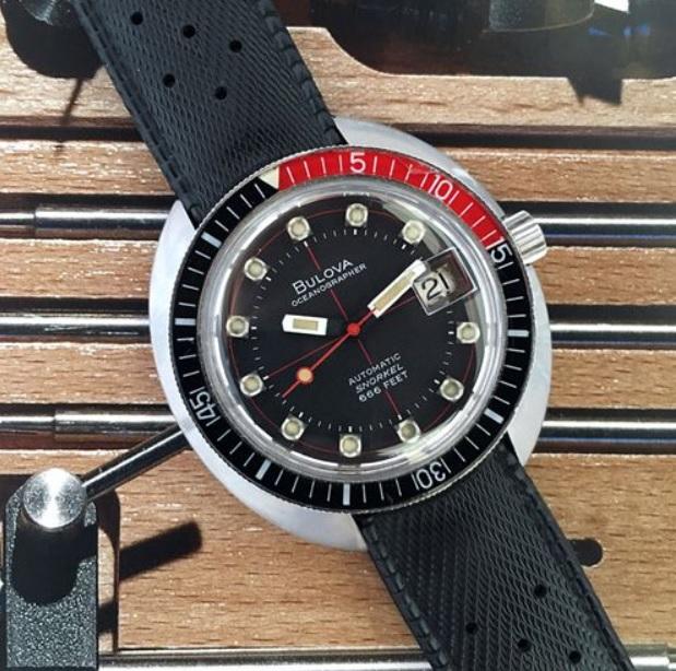 Bulova Snorkel Oceanographer Dive giá bán 666 đô la