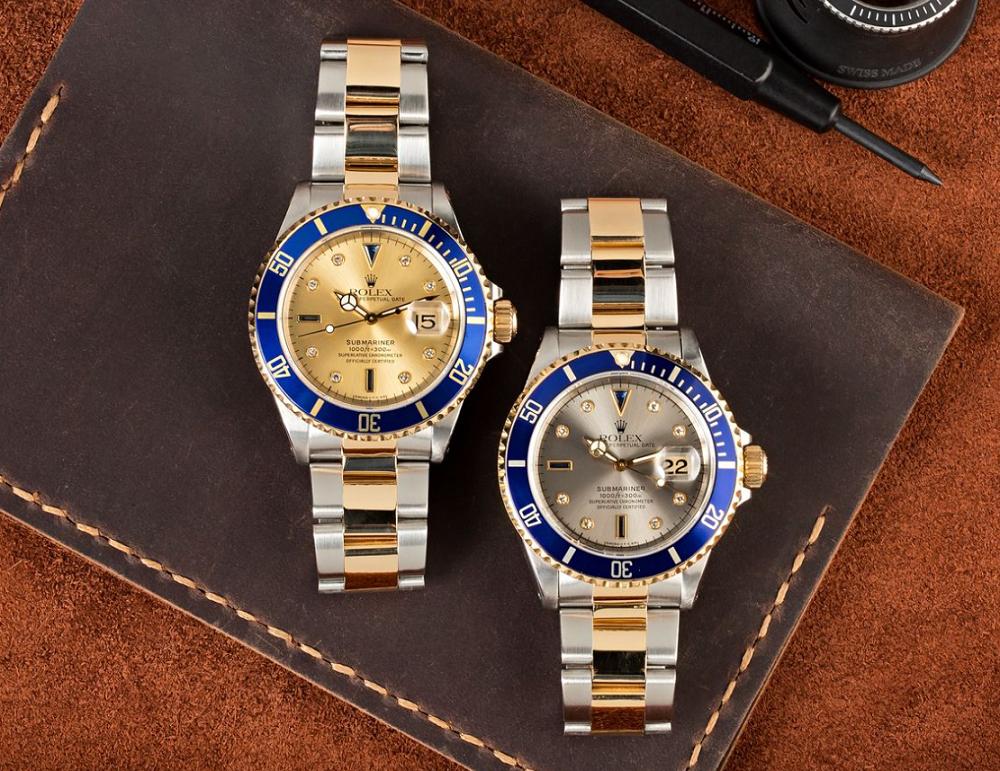 Đồng hồ Rolex Submariner 16613 mặt số Serti Dial
