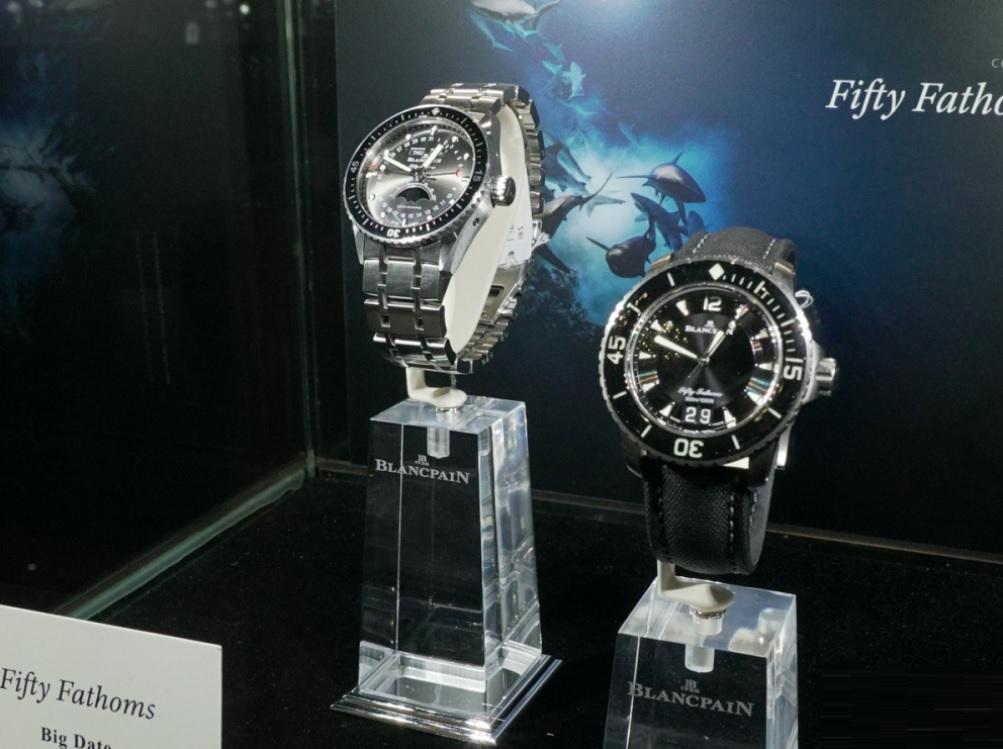 Fifty Fathoms - Thiết kế đồng hồ lặn rất nổi tiếng của Blancpain