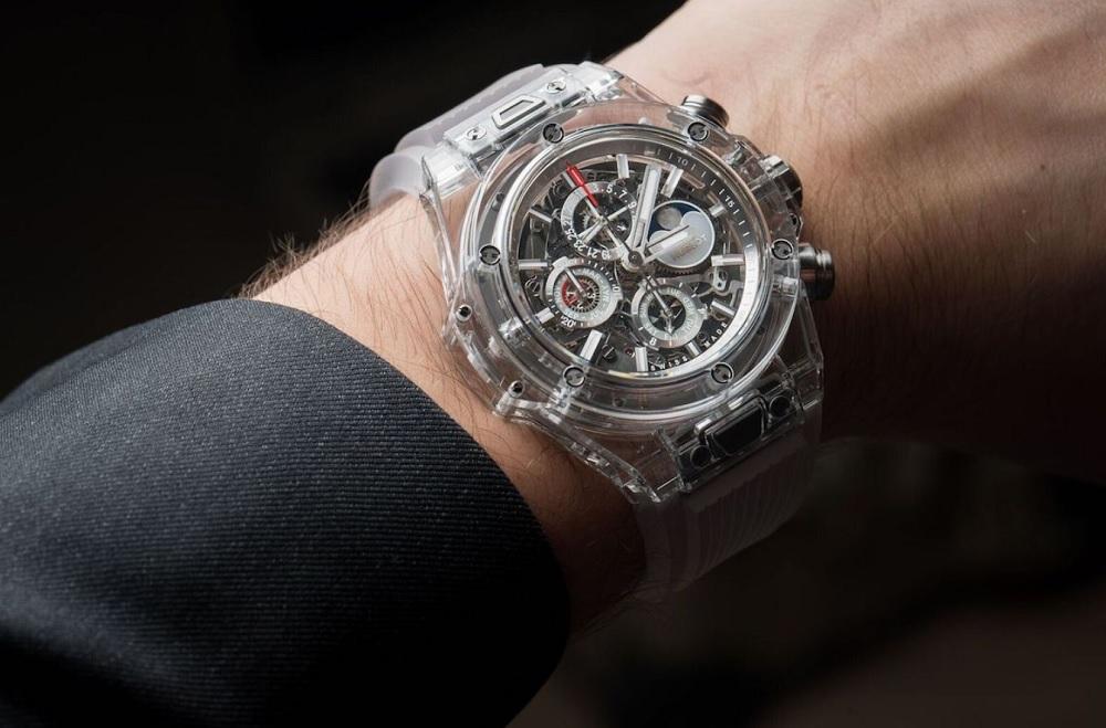 Hublot đưa Sapphire đến với mẫu đồng hồ Big Bang trứ danh-1