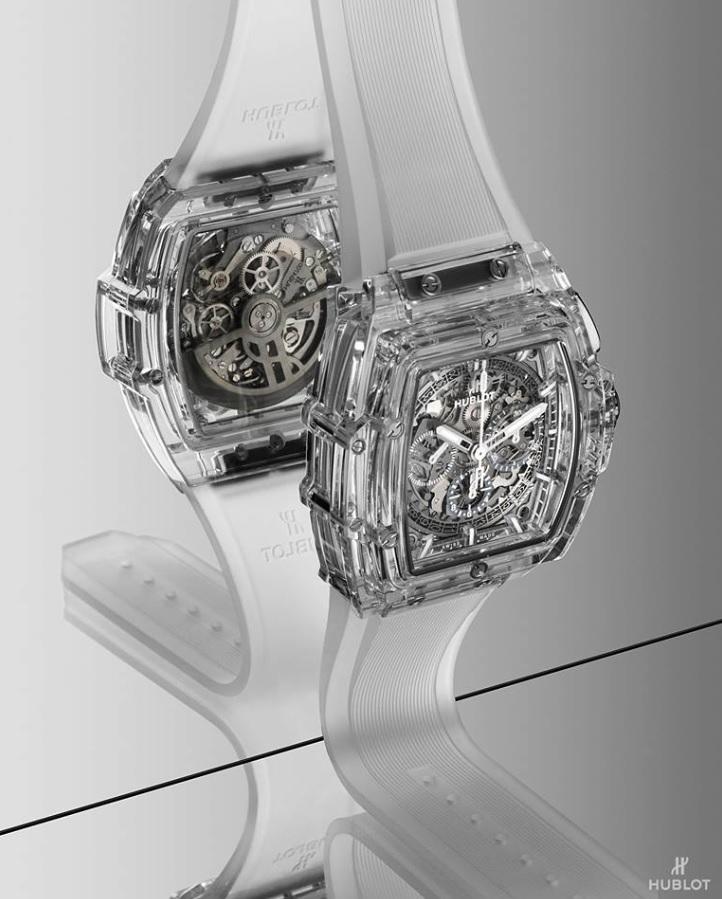Hublot đưa Sapphire đến với mẫu đồng hồ Big Bang trứ danh-2