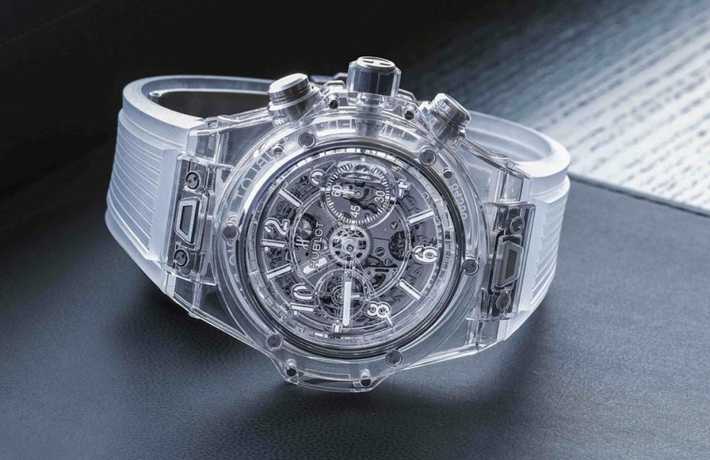 Hublot đưa Sapphire đến với mẫu đồng hồ Big Bang trứ danh