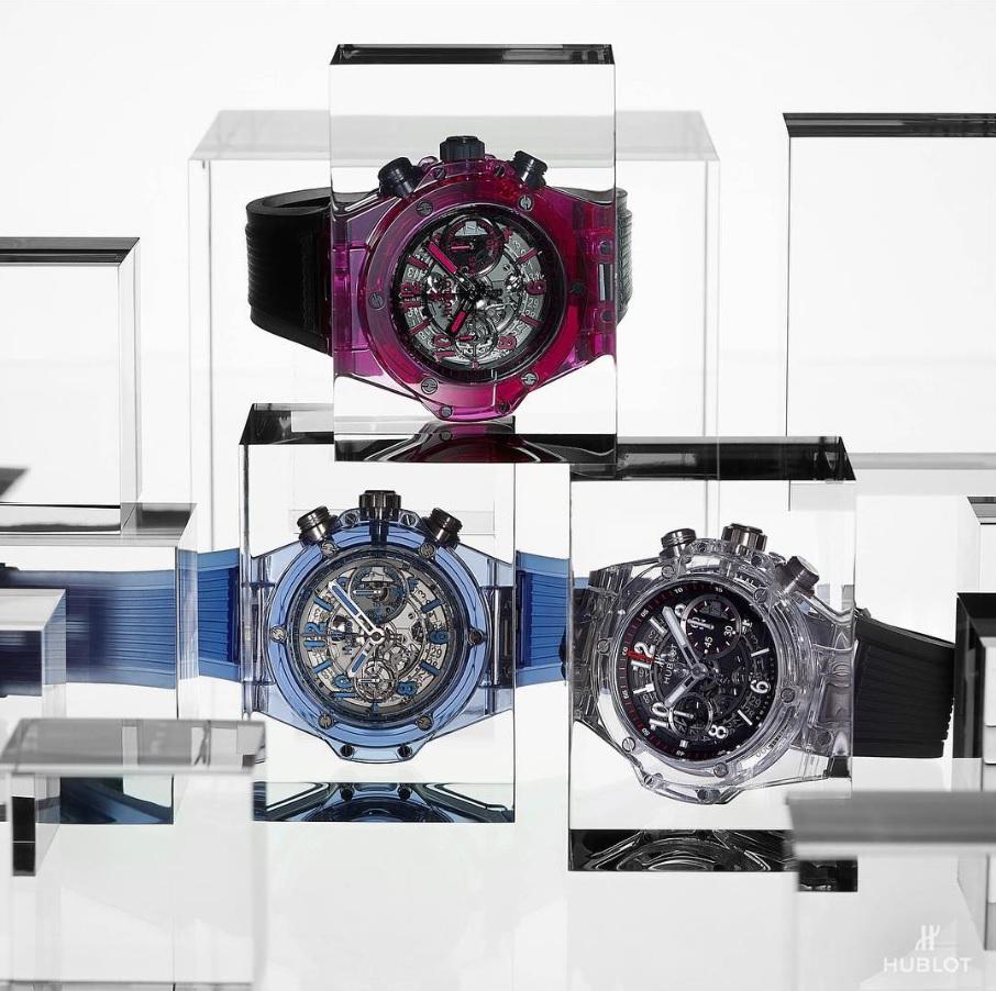 Hublot cho ra đời các loại Sapphire màu hoàn toàn mới áp dụng triết lý The Art of Fusion