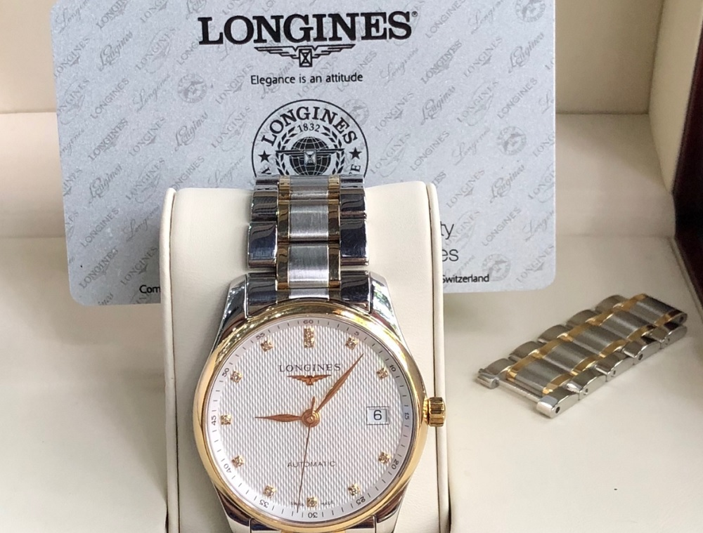 Longines Master Diamond L25185777-1