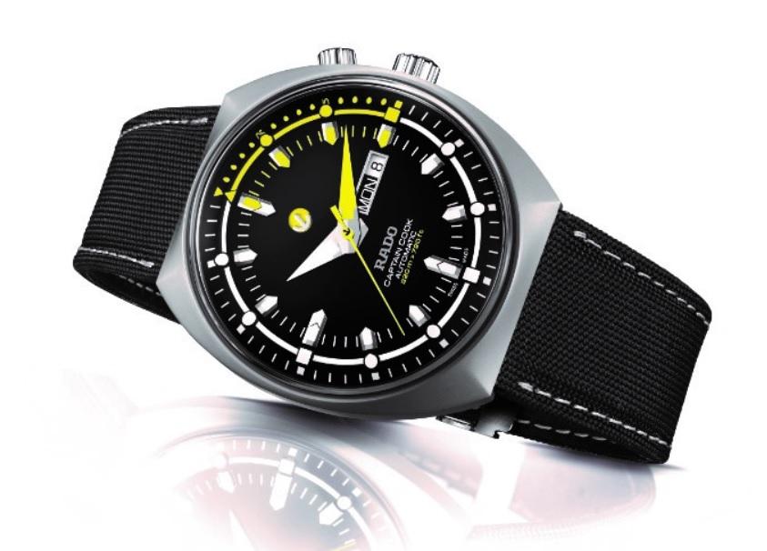 Mẫu đồng hồ Rado Tradition Captain Cook MKIII truyền thống