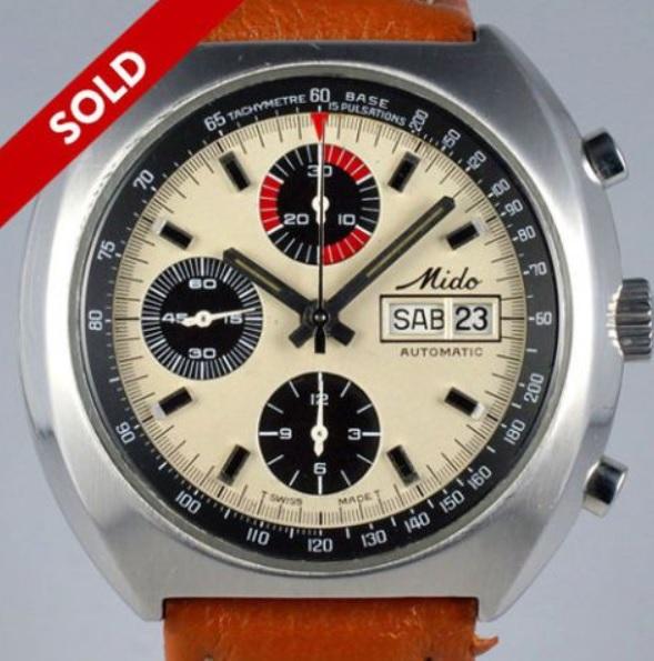 Mido Chronograph giá bán 1.400 Đô La