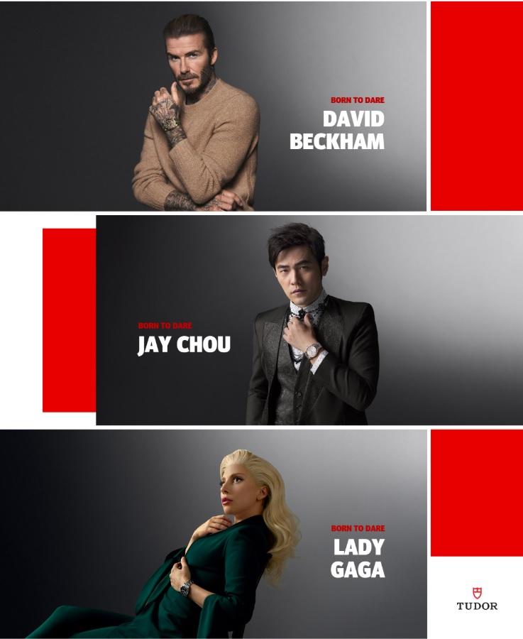 Ngôi sao lớn và có cá tính hấp dẫn như David Beckham-Lady Gaga-Jay Chou