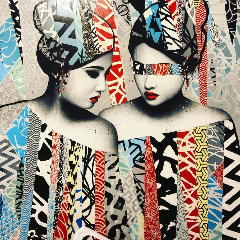Nghệ thuật của Hush dung hòa giữa văn hóa của Châu Âu - Bắc Mỹ và Châu Á