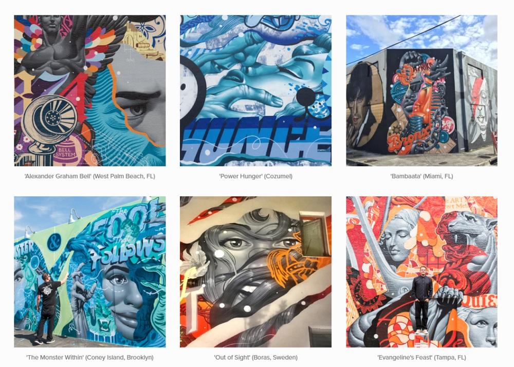 Nghệ thuật của Tristan Eaton được trân trọng và ngưỡng mộ trên toàn cầu